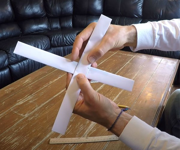 How to Make a Paper Boomerang
