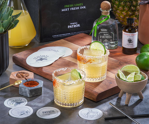 Patrón x JonBoy Margarita Collection