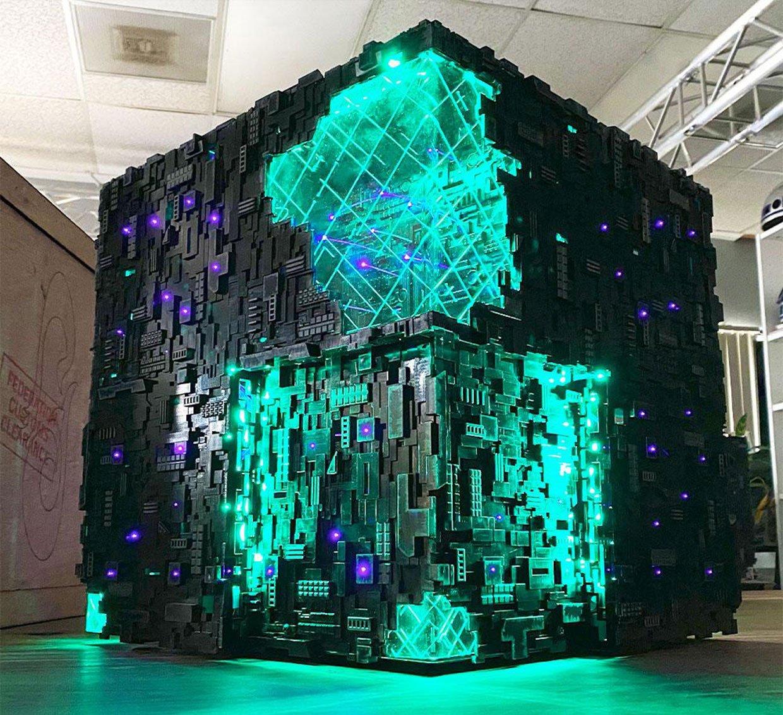 Picard Borg Cube PC