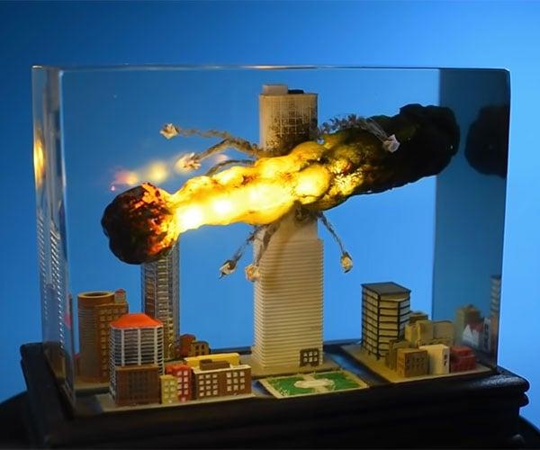 Making a Meteor Diorama