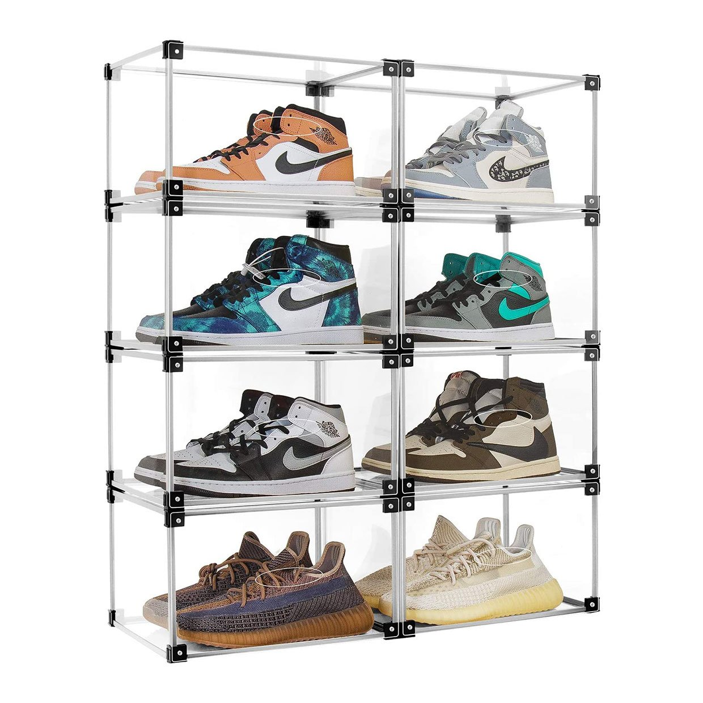 S-JIANG Acrylic Sneaker Display Boxes
