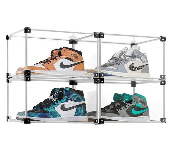 S-JIANG Acrylic Sneaker Display Boxes