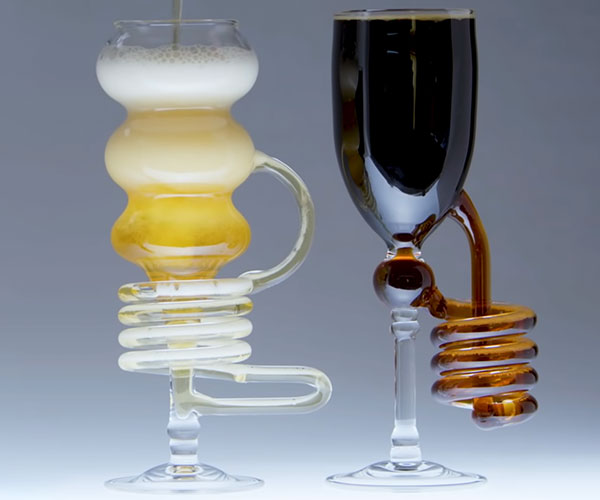 Blowing Scientific Glass Barware