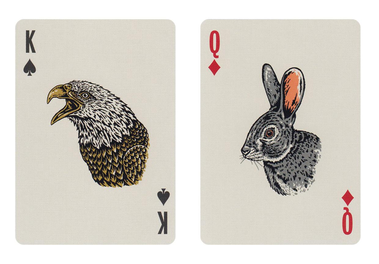 Smokey Bear Playing Cards