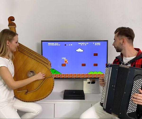 Super Mario Bros. on Bandura and Accordion