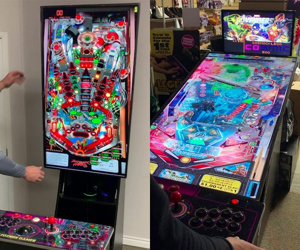 Transforming Virtual Pinball Machine