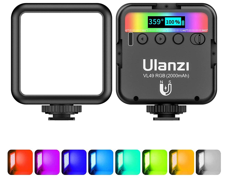 ULANZI VL49 RGB Photography Light