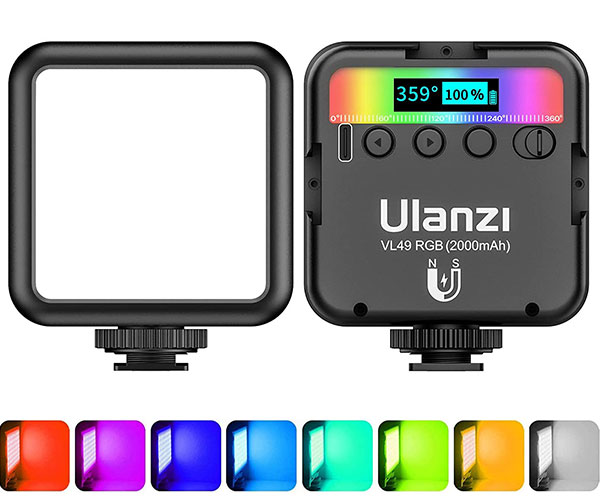 ULANZI VL49 RGB Photography Light