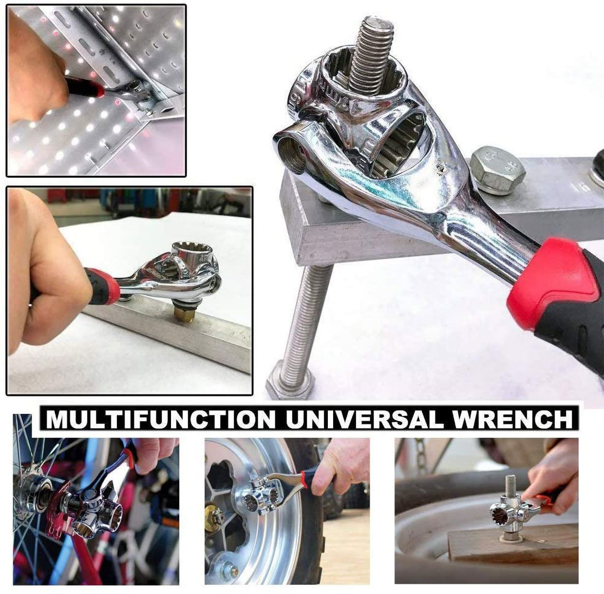 Universal 48-in-1 Socket Wrench