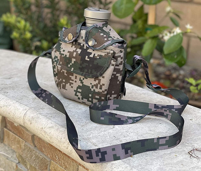 Valtcan Titanium Military Canteen + Mess Kit