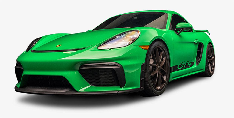 Win a 2021 Porsche 718 Cayman GT4