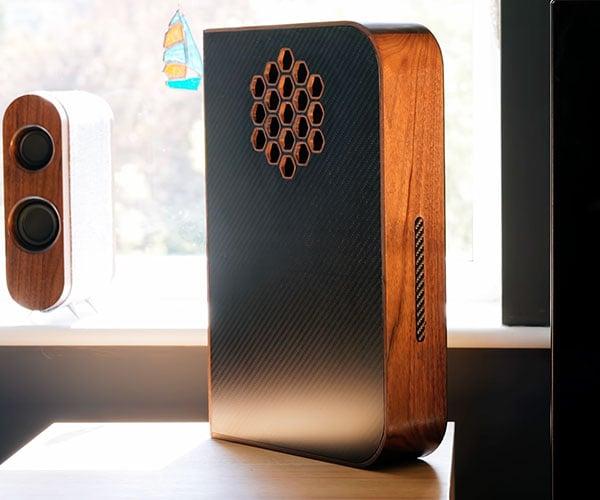 Building a Wood + Carbon Fiber PS5 Case