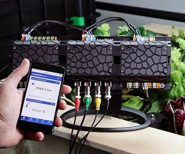 AquaShield 2.0 Smart Hydroponics + Aquaponics System