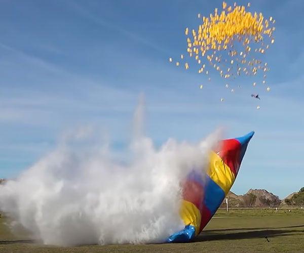 Launching Stuff from an Air Blob