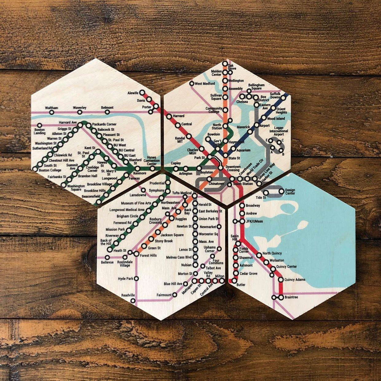 City Subway Coasters