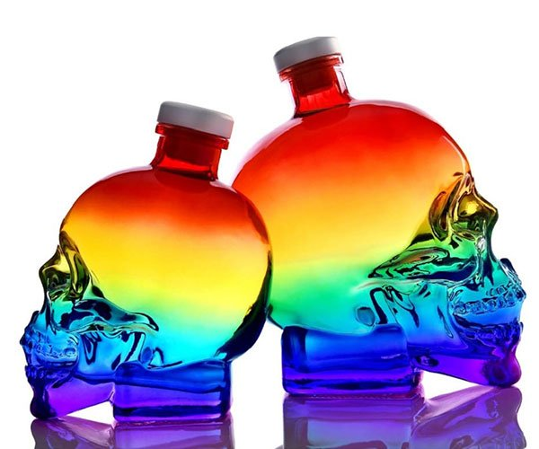 Crystal Head Vodka Pride Bottle