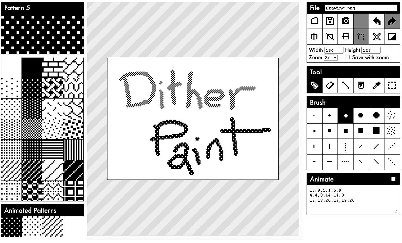 DitherPaint
