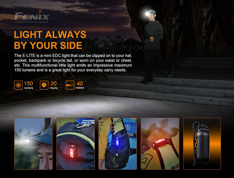 Fenix E-Lite Mini EDC Flashlight