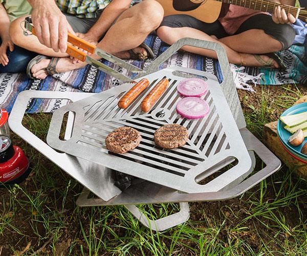 Fireflower Original Fire Pit + Grill