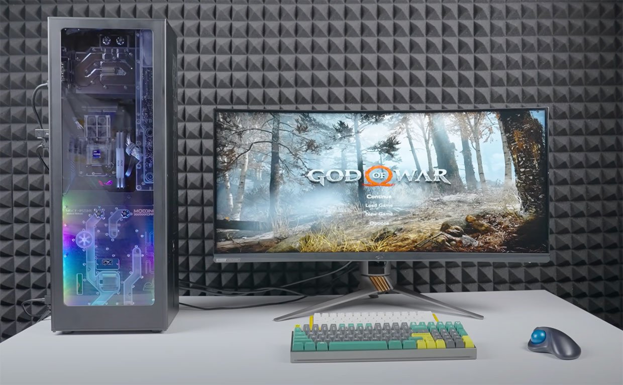 Gaming PC + PS5 Combo System