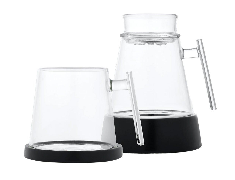 Glass Pour-Over + Mug Set