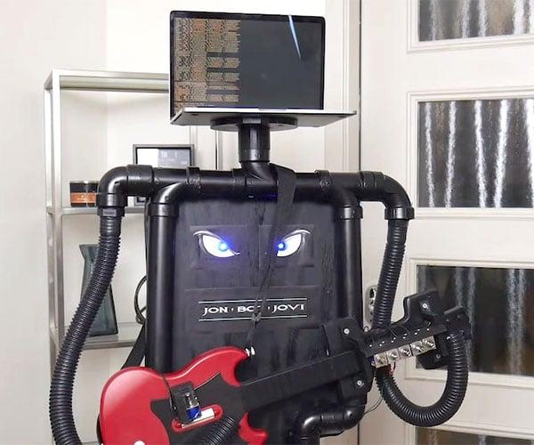 The Guitar Hero Robot