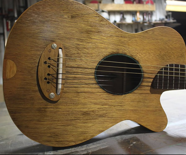 Closet Door Guitar
