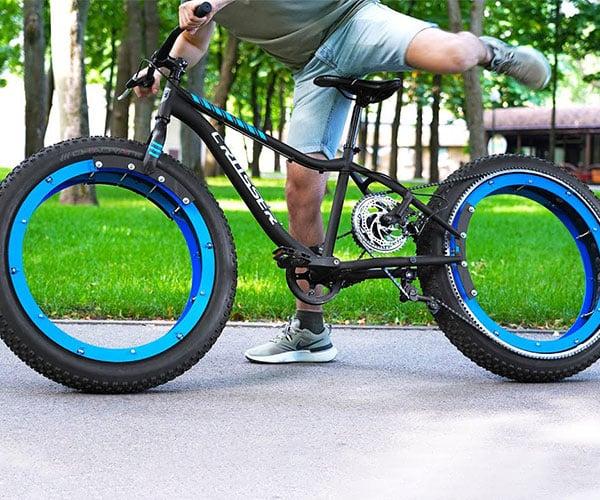 Hubless Chain-drive Bicycle