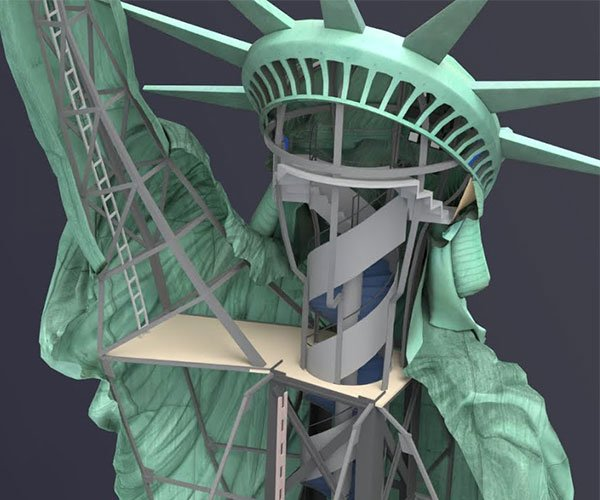 What's Inside of the Statue of Liberty