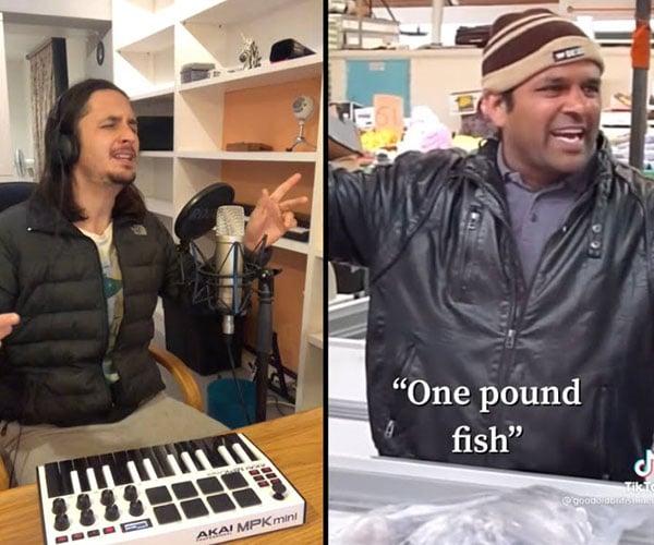 One Pound Fish Man x The Kiffness