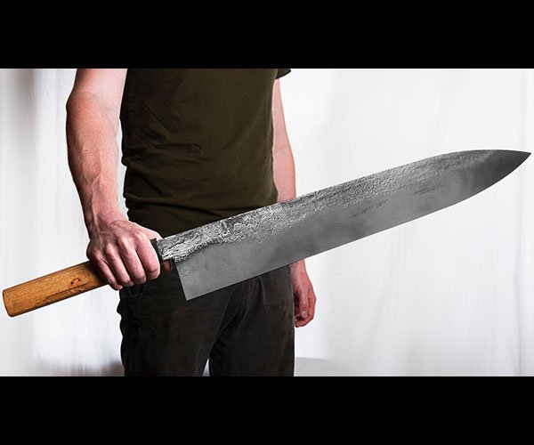 World's Largest Chef's Knife