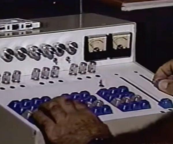 1980s Laugh Track Machine