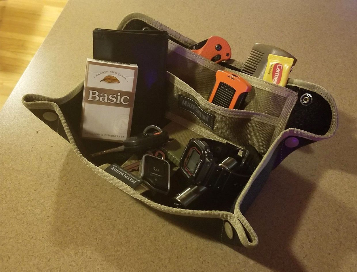 Tactical Travel Tray