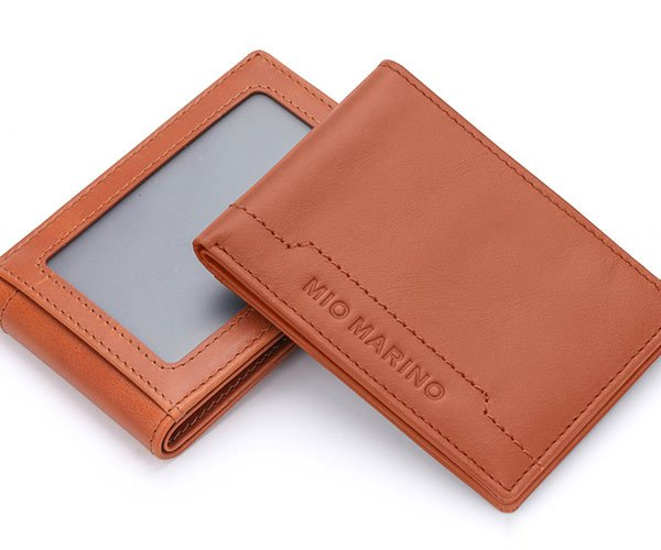 Stitched Bifold Leather Wallet