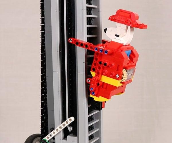 Never-ending LEGO Climber