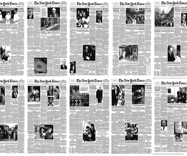 Evolution of The New York Times
