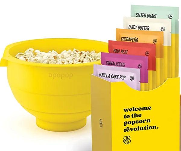 Opopop Flavored Popcorn