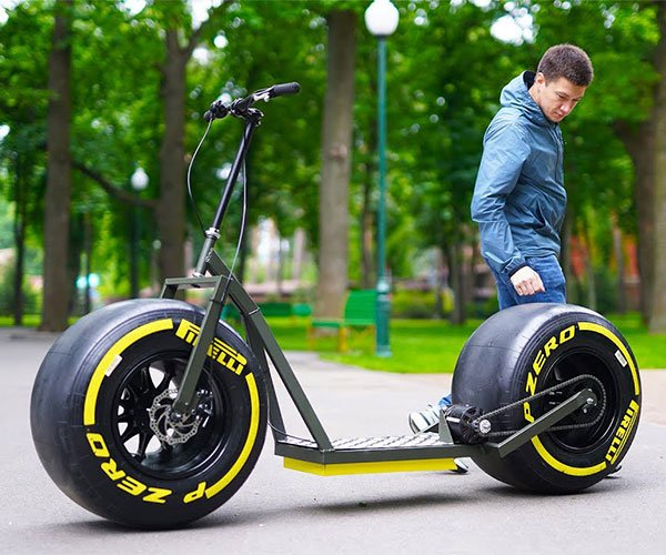 Making an Electric Fat Tire Scooter