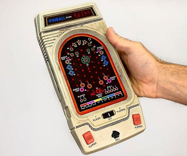 Restoring a 1980s Handheld Pinball Game
