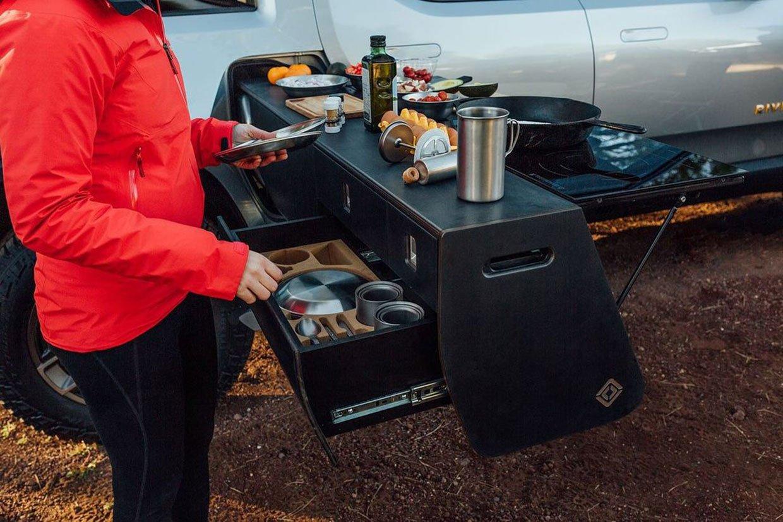 Rivian R1T Camp Kitchen