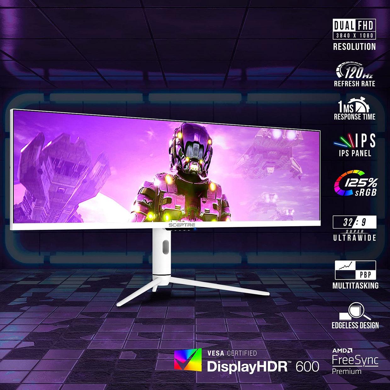 Sceptre 32:9 Ultrawide Monitor