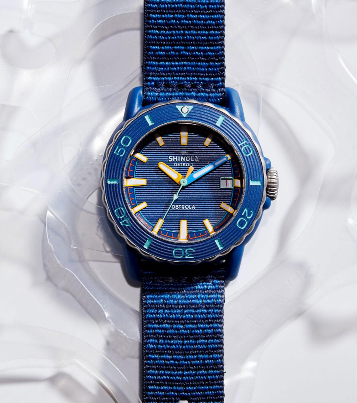 Shinola Sea Creatures Watches