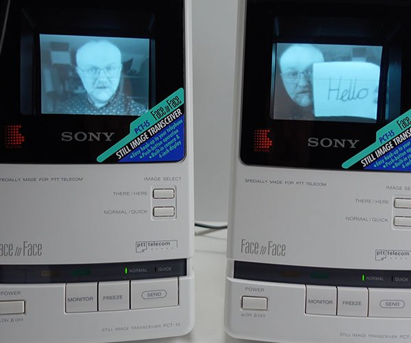 Retro Tech: Sony Face to Face Video Phone