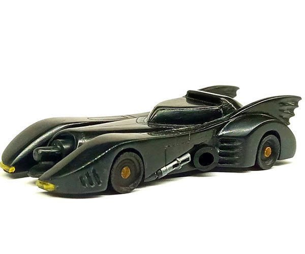 Carving a Batmobile from a Speaker Cabinet