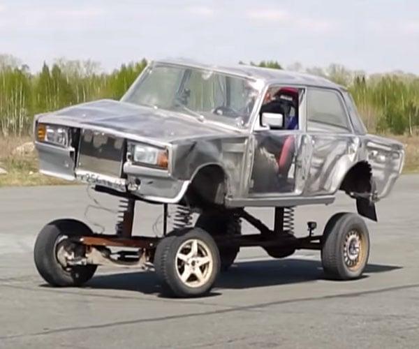 Lifting a Lada