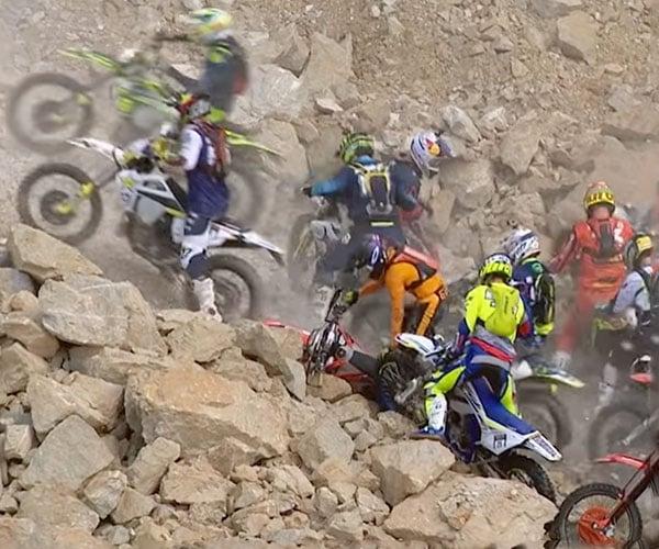 The Hardest Dirt Bike Race