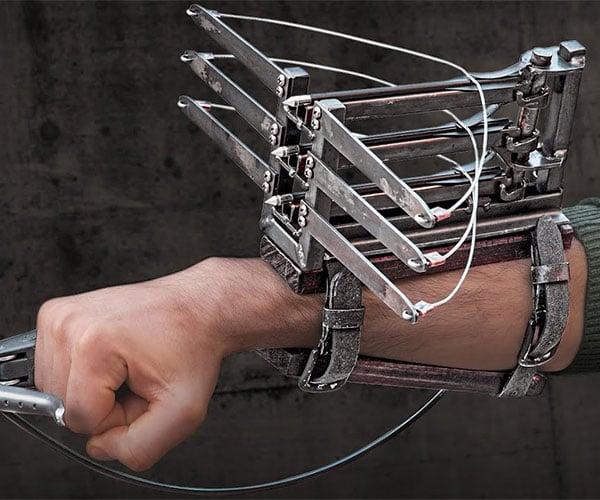 Making a Triple-Arrow Wrist Crossbow