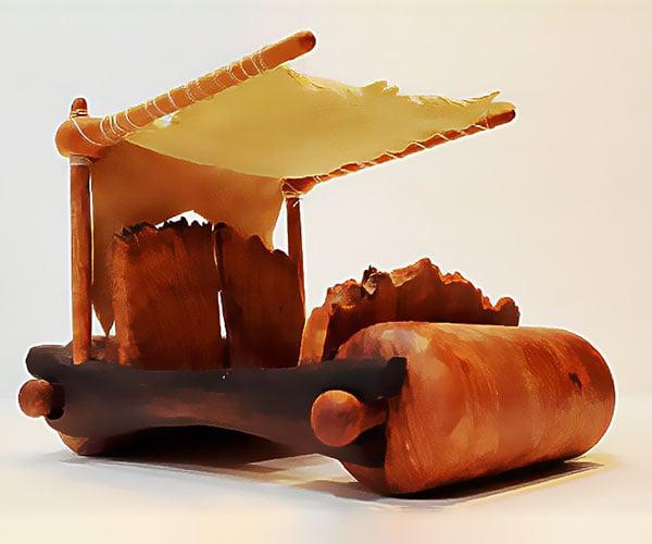 Making a Wooden Flintstones Car