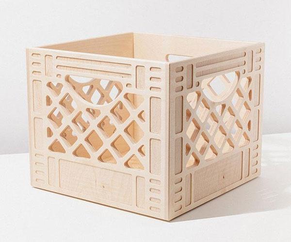 Plywood Milk Crates