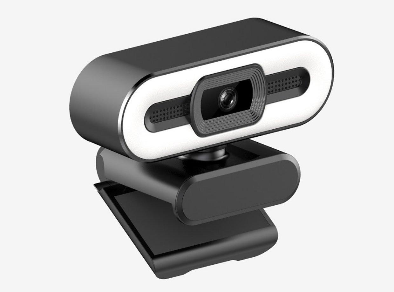 HD Webcam w/ Ring Light